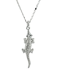 Ladies Lizard Necklace