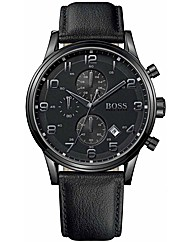 Hugo Boss Black Mens Strap Watch