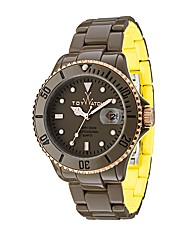 ToyWatch Mr Hyde Brown and Yellow
