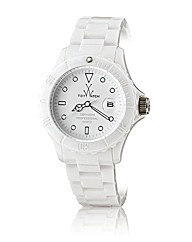 ToyWatch Monochrome in White