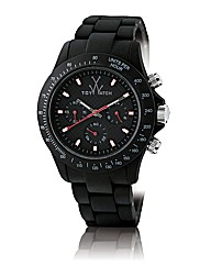Toywatch Velvety Chronograph Black