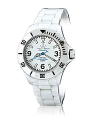 ToyWatch Ceramic in White