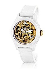 Toywatch Skeleton in White and Gold
