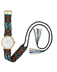 ToyWatch Maya Handmade Cotton Strap