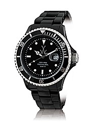 ToyWatch Oversized With Black Dial