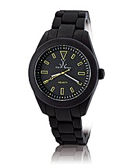 Toywatch Velvety Watch in black