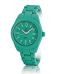 ToyWatch Velvety Watch in Aqua Green