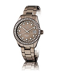 ToyWatch Pewter Colour Swarovski element