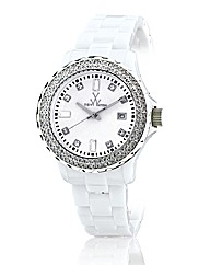 Toywatch White With Swarovski elements