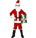Christmas Deluxe Santa Boy Costume