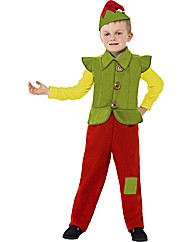 Boys Christmas Deluxe Elf Costume