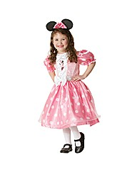 Minnie Mouse Pink Spotty Costume