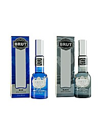 Brut Black 88ml Edc x2 Set for Him