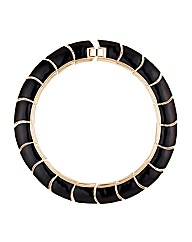 Mood Enamel Collar Necklace