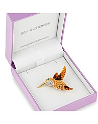 Jon Richard Hummingbird Brooch