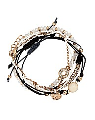 Mood Crystal Friendship Bracelet Pack
