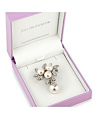 Jon Richard Pearl Drop Brooch