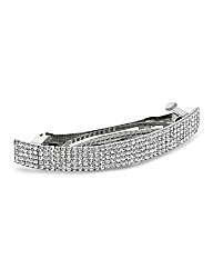 Mood Diamante Crystal Hair Barrette
