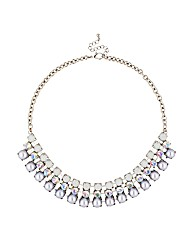 Mood Pearl Crystal Statement Necklace