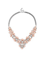 Mood Statement Flower Necklace