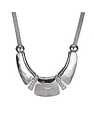 Mood Panelled Mesh Chain Necklace