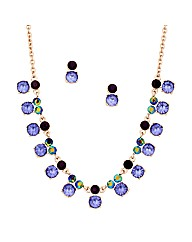 Mood Jewelled Purple Stone Set