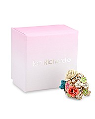 Jon Richard Flower Bouquet Ring