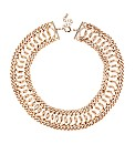 Mood Statement Chain Collar Necklace