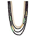 Mood Beaded Multirow Necklace