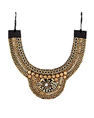 Mood Embellished Collar Necklace