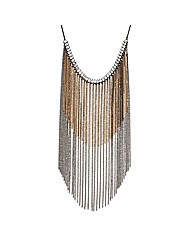 Mood Statement Tassel Chain Necklace