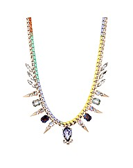 Mood Multicoloured Jewelled Necklace