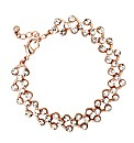 Jon Richard Rose Gold Crystal Bracelet