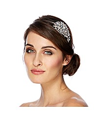 Jon Richard Crystal Side Headband