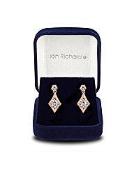 Jon Richard Cubic Zirconia Kite Earring