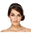 Jon Richard Diamante Double Row Headband