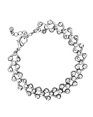 Jon Richard Crystal Crossover Bracelet