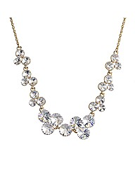 Jon Richard Crystal Bubble Necklace