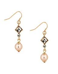 Jon Richard Pearl Drop Earring