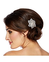 Jon Richard Diamante Flower Hair Slide