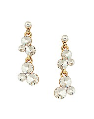 Jon Richard Crystal Bubble Earring