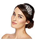 Jon Richard Crystal Leaf Headband