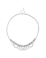 Jon Richard Draped Diamante Necklace