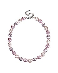 Jon Richard Baroque Pearl Necklace