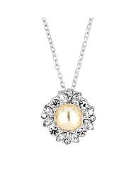 Alan Hannah Pearl Crystal Pendant