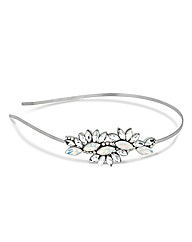 Jon Richard Opalescent Crystal Headband
