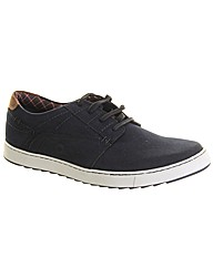 Chatham Camden Leather Plimsole Trainer