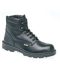 Capps Black Leather Derby Boot