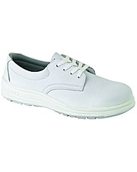 ABS Mens White Tie Shoe