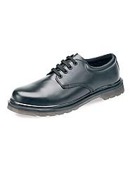 Globe Trotter Black Shoe